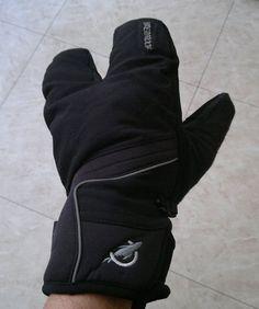 SealSkinz Winter Handlebar Mittens: Lobster hands?