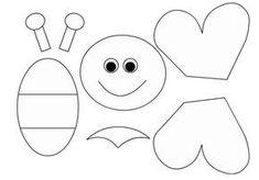 Best 11 9 Remarkable Foam Craft Ideas For Adults And Kids – SkillOfKing. Craft Activities, Preschool Crafts, Easter Crafts, Bug Crafts, Foam Crafts, Art For Kids, Crafts For Kids, Quiet Book Patterns, Bee Art