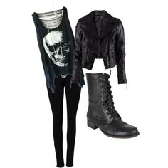 """Punk Chic'"" by heartless-revenge on Polyvore"