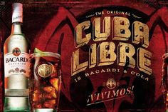 ¡Vivimos!, The Fascinating (True) History of The Cuba Libre (Rum, Coke & Lime) #bar #drinks #recipes