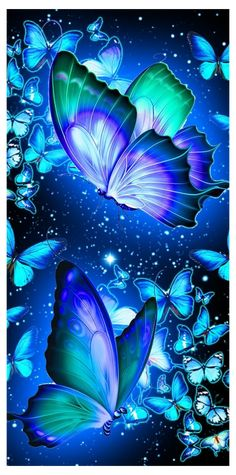 Whats Wallpaper, Fairy Wallpaper, Cute Galaxy Wallpaper, Neon Wallpaper, Cute Wallpaper Backgrounds, Pretty Wallpapers, Colorful Wallpaper, Purple Butterfly Wallpaper, Wallpaper Nature Flowers