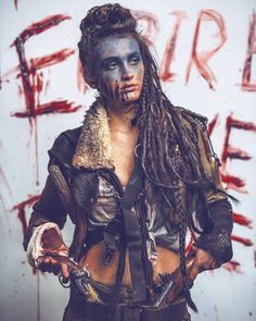 """I call this one, """"Interpretations of The Collective Unconscious"""" - claytonhaugen Post Apocalyptic Costume, Post Apocalyptic Fashion, Dystopian Fashion, Cyberpunk Fashion, Mad Max, Steampunk, Wasteland Warrior, Dystopia Rising, Vikings"""