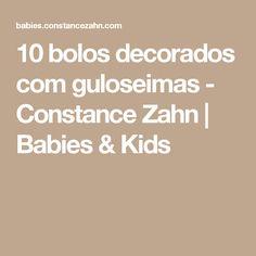 12 drip cakes para a festa infantil - Constance Zahn Bolo Charlotte, Beatles, Pound Cake Recipes, Drip Cakes, Mini Cakes, Cake Decorating, Baby Kids, Recipies, Pasta