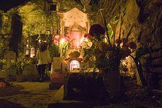 Day of the Dead Cemetery Oaxaca