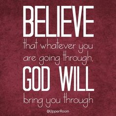 Whatever we are going through, God will bring us through   https://www.facebook.com/photo.php?fbid=10152543014598151