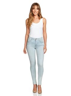 Levi's 721 High Rise Skinny Jeans Light Wash Jeans Size 8 29 X 32