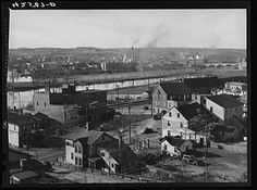 November 1940-Derby as seen from Ansonia