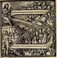 Holbein Alphabet 1526: Initial Z