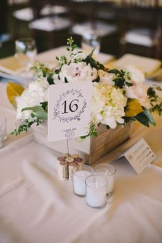 #table-numbers Read More: http://www.stylemepretty.com/2013/10/25/rhode-island-wedding-from-tony-spinelli-photography/