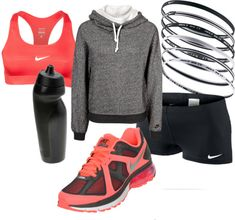 Nike Workout Polyvore #Fitness #Workout