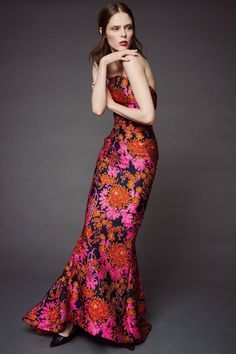 See the entire new collection by Zac Posen on Vogue.com The shape of this dress is flawless!