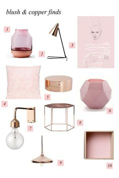 Rose quartz pink accessories. #LGLimitlessDesign #Contest