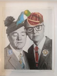 Available for sale from Imitate Modern, Cartrain, Gilbert and George (2014), 42 × 35 cm