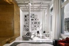 loft, living room, new York,design, home