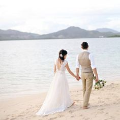 The next best thing to having your very own private island? Getting #married on one. And when you see this gorgeous couples island #wedding (planned on just a $15000 budget!) youll be packing your bags to follow in their footsteps! #destinationwedding | Photography: @miminguyenphoto | Photography Assistance: @kimlephotography | Floral Design: @jacqsfloral | Cinematography: @table4weddings | Wedding Dress: @clairepettibone | Event Planning: Pauline Ylaya of Palo Alto Bed & Breakfast by…