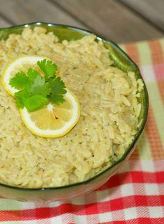 Orzo with Artichoke Lemon Pesto www.fooddonelight.com