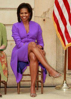 Michelle Obama in Isaac Mizrahi