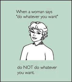 do not, hahaha right !