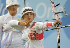 London 2012 Olympic Archery: Korean Women's team gets the gold medal in style!
