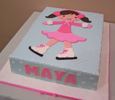 Ice Skating cake by cakespace - Beth (Chantilly Cake Designs), via Flickr