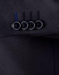 Stiksels in de kleuren vd huidige sjaal / sigarenband van het transavia logo , het staat fris bij een donkerblauwe of grijze colbert.
