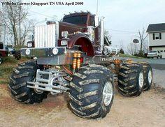 Monster Semi Truck