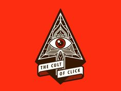 The Cult of Click by Justin Mezzell #Design Popular #Dribbble #shots