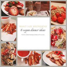 TheInsideOutBeauty - Beauty & Lifestyle Blog: What I Ate Wednesday | 6 Vegan Dinner Recipes! http://www.theinsideoutbeauty.com/2015/08/what-i-ate-wednesday-6-vegan-dinner.html #vegan #lifestyle #food #recipes #blog #cooking #health #diet #dinner