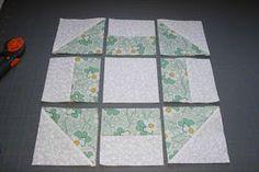 crazy mom quilts: quilt-a-long week 9 - Churn Dash Block
