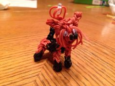 Donna Lorber Rainbow Loom FB page. YORKIE. Tutorial requested.
