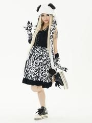 Neon Leopard Corset One-Piece / See more at http://www.cdjapan.co.jp/apparel/new_arrival.html?brand=SLV #harajuku