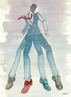 Fun shoes for your mutant boyfriend!