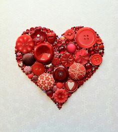 Button Art ♡