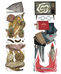 Charlie and the Chocolate Factory II by Júlia Sardà.
