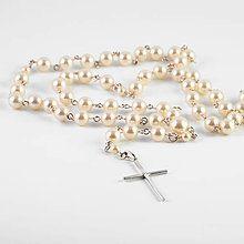 Handmade Pekné vecičkyruženec / SAShE.sk Swarovski, Beaded Bracelets, Cream, Gold, Jewelry, Fashion, Jewellery Making, Jewlery, La Mode