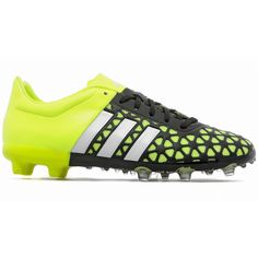sale retailer 40904 21751 New Adidas Ace 15.1 FG AG Junior Soccer Cleats Kids Youth - Black   Yellow  - 4.5