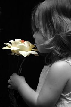 Image detail for -OnlyPositive.Net | Girl with a flower.