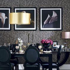 Faro 100 Linen Set Of Gold Dining RoomsRoom DecorationsBlack