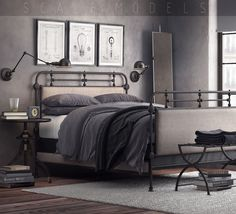 1920s french style bedroom 034 3d model max 1