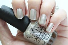 OPI Soft Shades This Silvers Mine Nail Polish Swatch