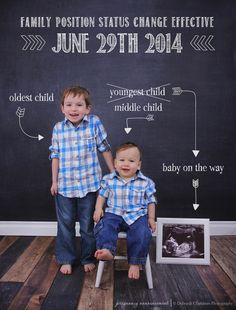 Pregnancy Announcement Idea, © Deborah Chambers Photography