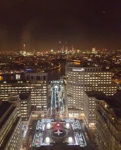 Forgot I took this photo looking out over Central London from Canary Wharf. Not as great as the real deal because of the reflection in the glass but still pretty cool. Was equally amazing during the day but didn't manage to get a picture this time round.. by fielde491