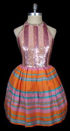 Dress Bill Blass, 1960s The Frock