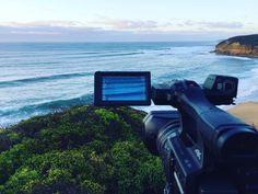 Shooting at Bells earlier this week was a great time. #Panasonic #4K #bellsbeach #surf #australia #victoria #waves #surfing by olliepop_films http://ift.tt/1KnoFsa