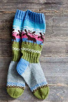Moose socks | home Kuvalehti