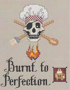 Burnt to Perfection - Cross Stitch Pattern Sue Hillis' pirate patterns