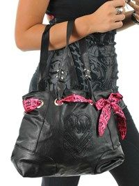 Metal Mulisha Black Sedated Womens Bag | Metal Mulisha | FreestyleXtreme