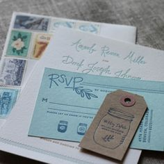 Paper Plates Press :: Letterpress Design House: Meet the Johnson's Part 1: The Invitations