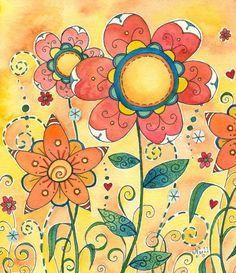 Paprika Original Watercolor Painting ♥♥