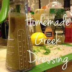 Ultimate Reset Greek Salad Dressing - Easy Recipe!